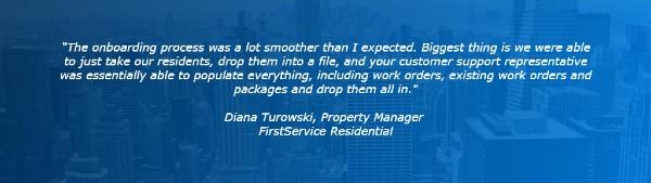 Customer Testimonial Diana Turowski