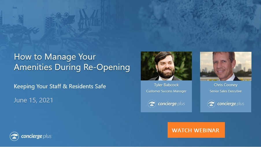 How to manage amenities during re-opening-